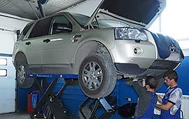 Диагностика Land Rover Freelander
