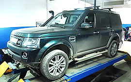 Диагностика Land Rover Discovery