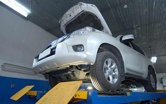 Диагностика АКПП Toyota Land Cruiser Prado
