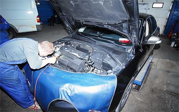 Диагностика АКПП Volvo S 80