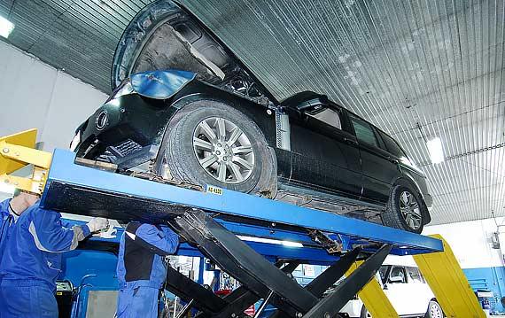 Диагностика автоматической коробки передач АКПП Range Rover