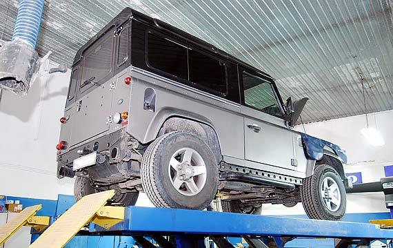 Диагностика АКПП Land Rover Defender
