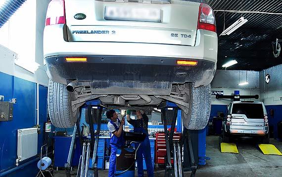 Диагностика коробки передач Land Rover Freelander