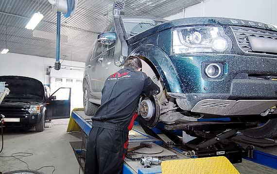 Диагностика подвески Land Rover Discovery