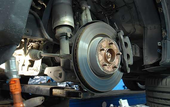 Диагностика ходовой Range Rover Sport