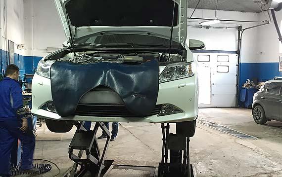 Диагностика ходовой Toyota Camry