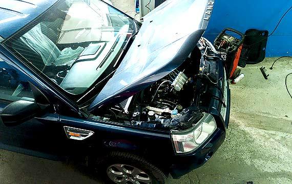 Диагностика двигателя Land Rover Freelander