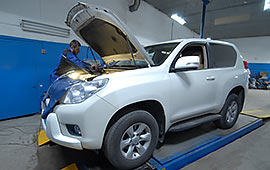 Диагностика Toyota Land Cruiser Prado