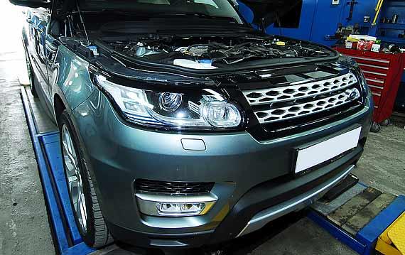 Диагностика Range Rover Sport