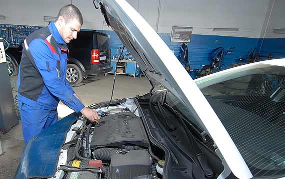 Диагностика двигателя Toyota Corolla