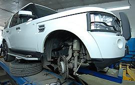 Техническое обслуживание Land Rover Discovery
