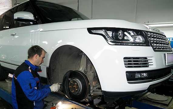 Замена колодок Range Rover в Пятигорске