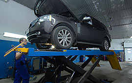 Замена масла в АКПП Range Rover и Land Rover