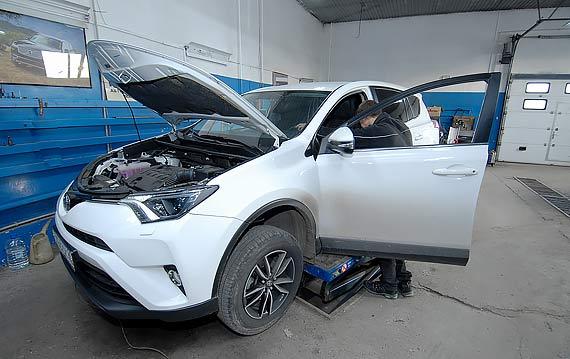 Сервис и ремонт Toyota RAV 4