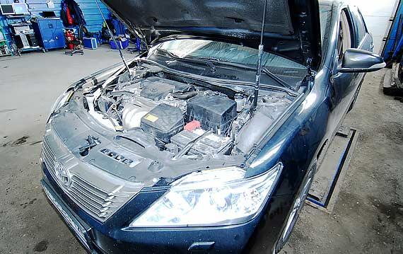 Диагностика двигателя Toyota Camry