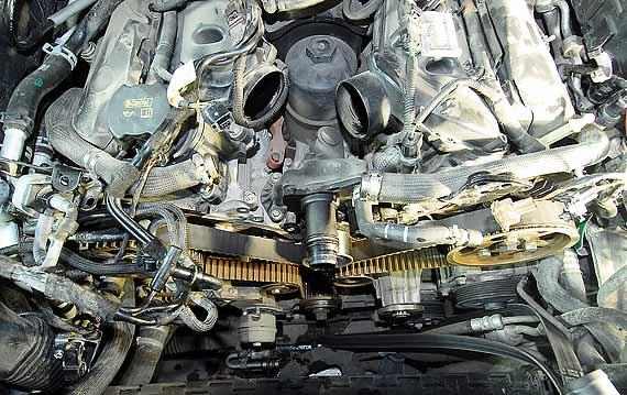 Замена цепи и ремня ГРМ Land Rover