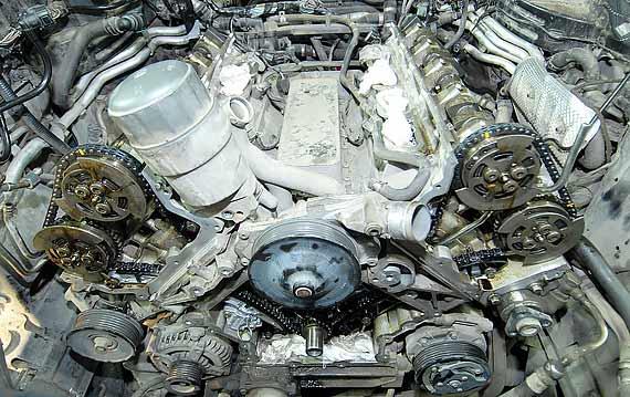 Замена цепи ГРМ Range Rover