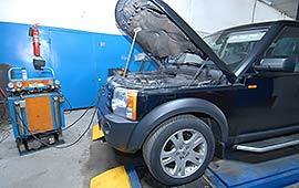 Заправка кондиционера Range Rover и Land Rover