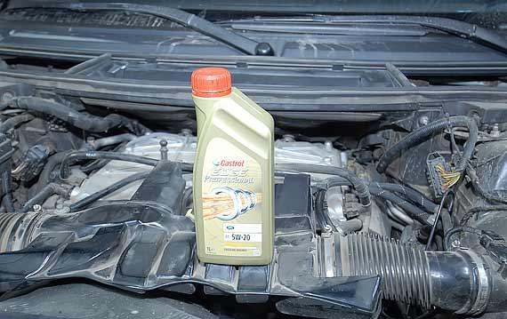 Моторное масло Castrol 5W-20