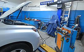 Обслуживание кондиционера Lexus