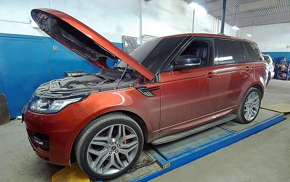 Техническое обслуживание Range Rover Sport
