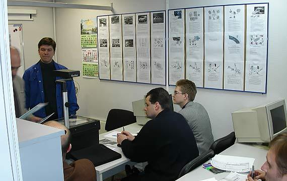Процесс обучения сотрудников VOLVO
