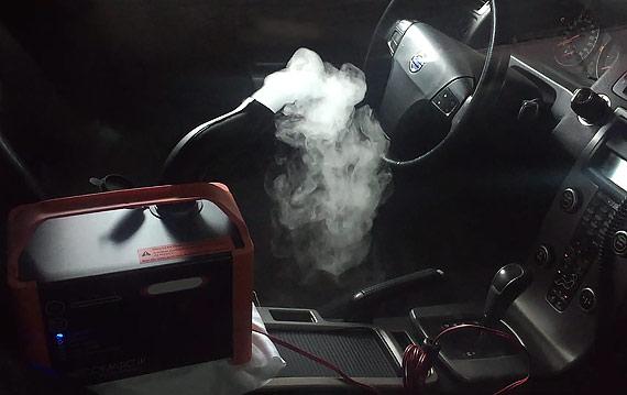 Озонирование салона Volvo