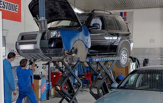 Диагностика подвески Land Rover Freelander