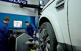 Развал схождение Land Rover Freelander