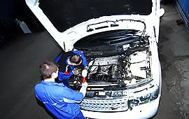 Сервис и ремонт Range Rover