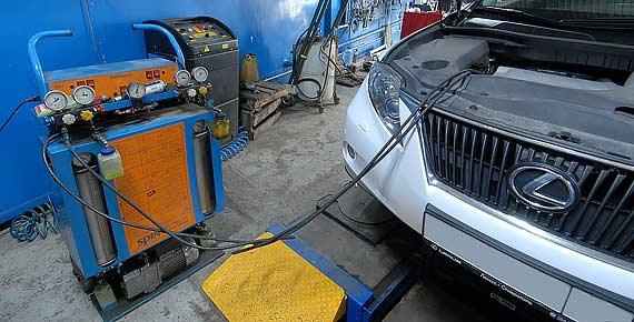 Ремонт кондиционера Lexus
