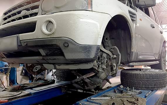 Ремонт подвески Range Rover