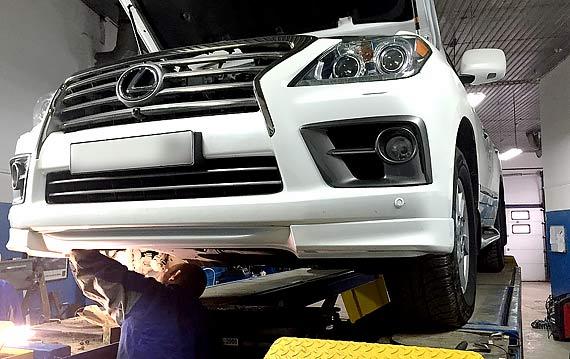 Замена масла в АКПП Lexus