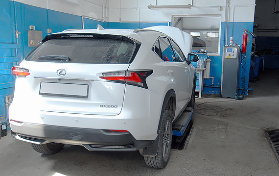 Ремонт Lexus NX в Пятигорске