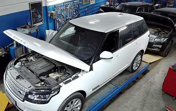 Ремонт Range Rover в Пятигорске