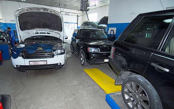 Ремонт и техобслуживание Range Rover Sport