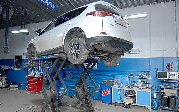 Ремонт Toyota RAV 4 в Пятигорске