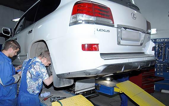 Сервисное обслуживание Lexus LX 570
