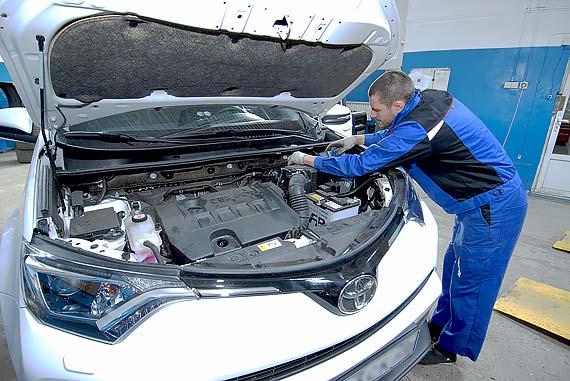 диагностика Toyota Rav4