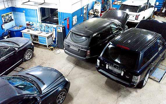 Техническое обслуживание Range Rover