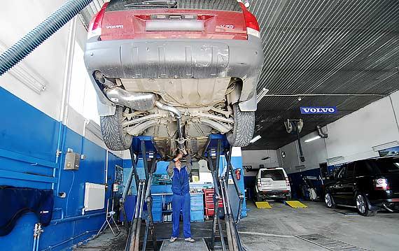 Сервис автомобиля Volvo V70