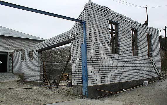 Строительство сервиса VOLVO