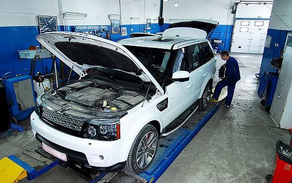 Техобслуживание Range Rover Sport