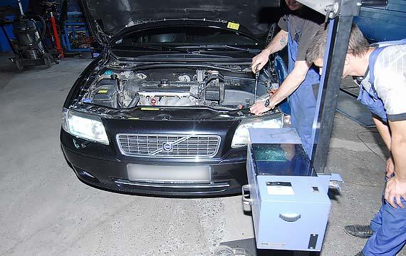 Техническое обслуживание проверка VOLVO S80