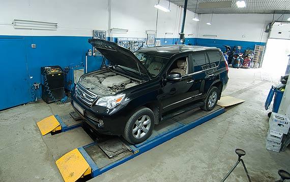 Замена масла АКПП Lexus