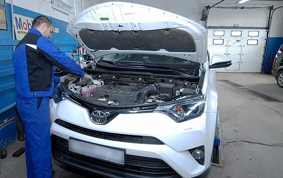 Техническое обслуживание Toyota Rav4