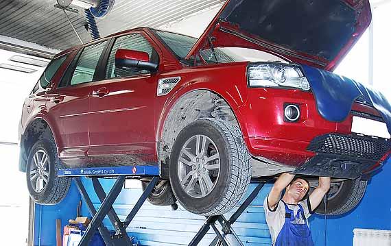 Техническое обслуживание Land Rover Freelander