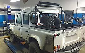 Техническое обслуживание Land Rover Defender