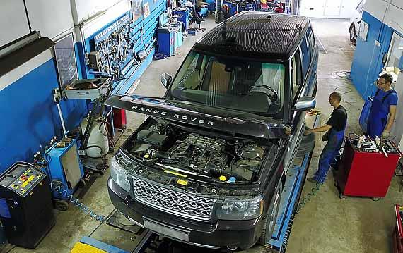 Техобслуживание Range Rover в Пятигорске