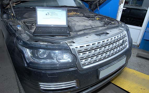 Чип-тюнинг двигателя Range Rover
